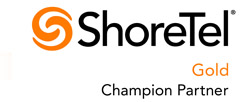 ShoreTel Gold Champion Partner - NJ and NY
