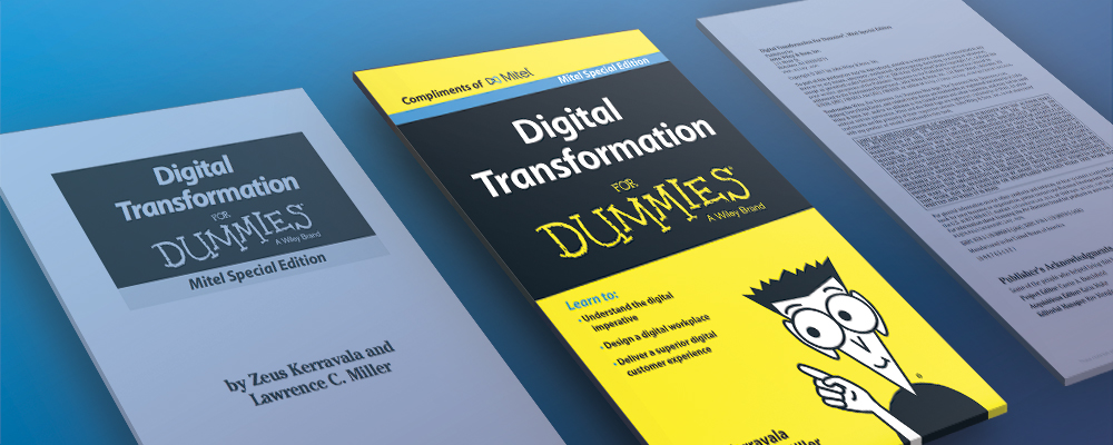 Mitel Digital Transformation for Dummies | NJ Mitel Partner