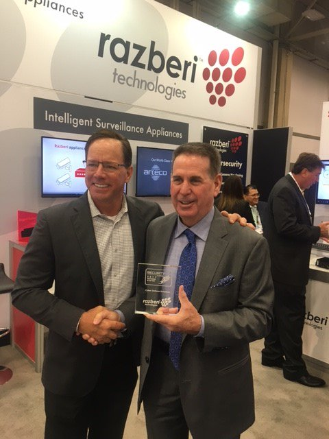 Razberi Accepts Security Today NPOY Award CyberDefense